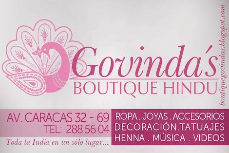 Boutique Hindú Govindas