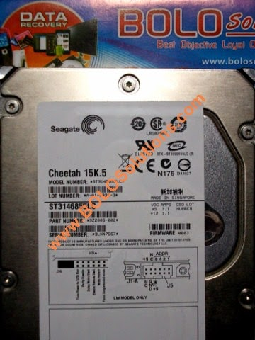 RECOVERY HARDDISK SCSI SEAGATE CHEETAH 15K5 140GB SINGAPORE