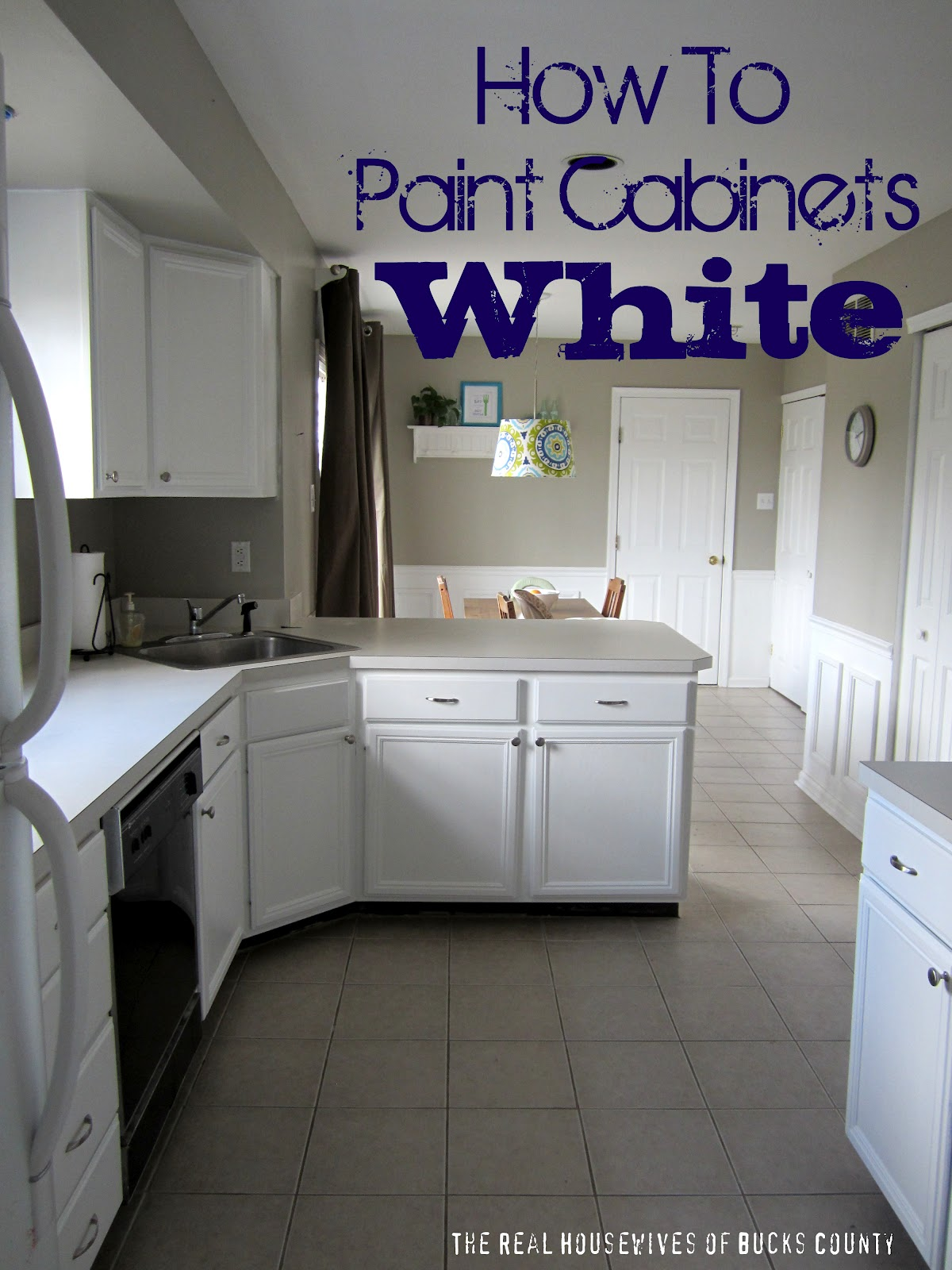how to paint cabinets white. Black Bedroom Furniture Sets. Home Design Ideas