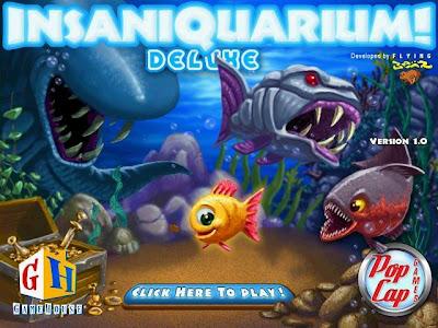 Free download Insaniquarium Deluxe PC game Gambar