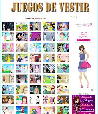 Juegos Chicas Vestir Gratis