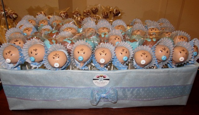 MARIBEL S CAKE POPS!: Baby Shower!