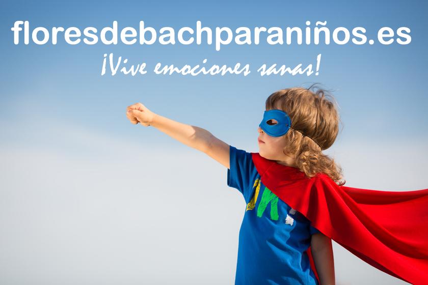 FLORES DE BACH PARA NIÑOS, consulta presencial y On-line