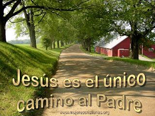 Wallpaper – Jesús es el único camino al Padre