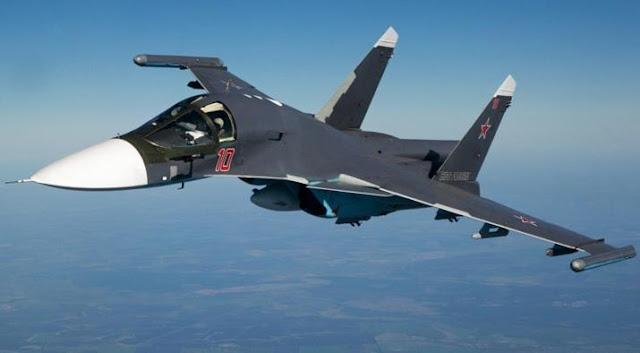 SU-34 Rusia violacion turquia