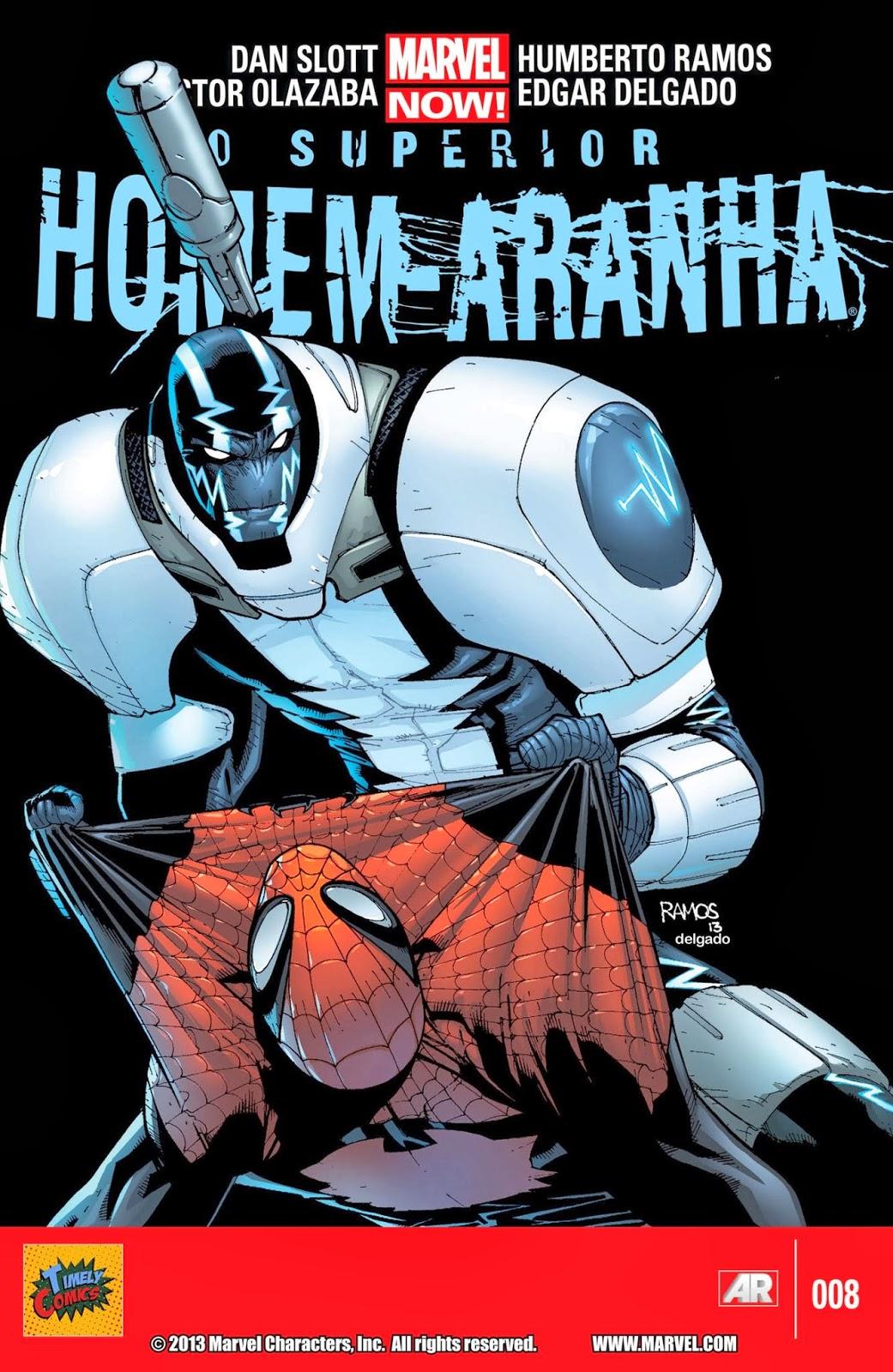 Nova Marvel! O Superior Homem-Aranha #8