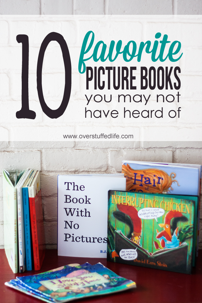 Ten delightful picture books you and your children will love to read together!