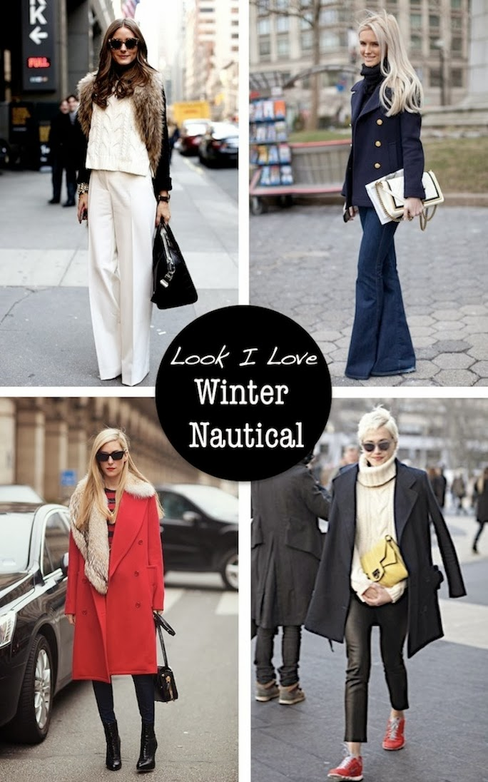 Winter Nautical street style