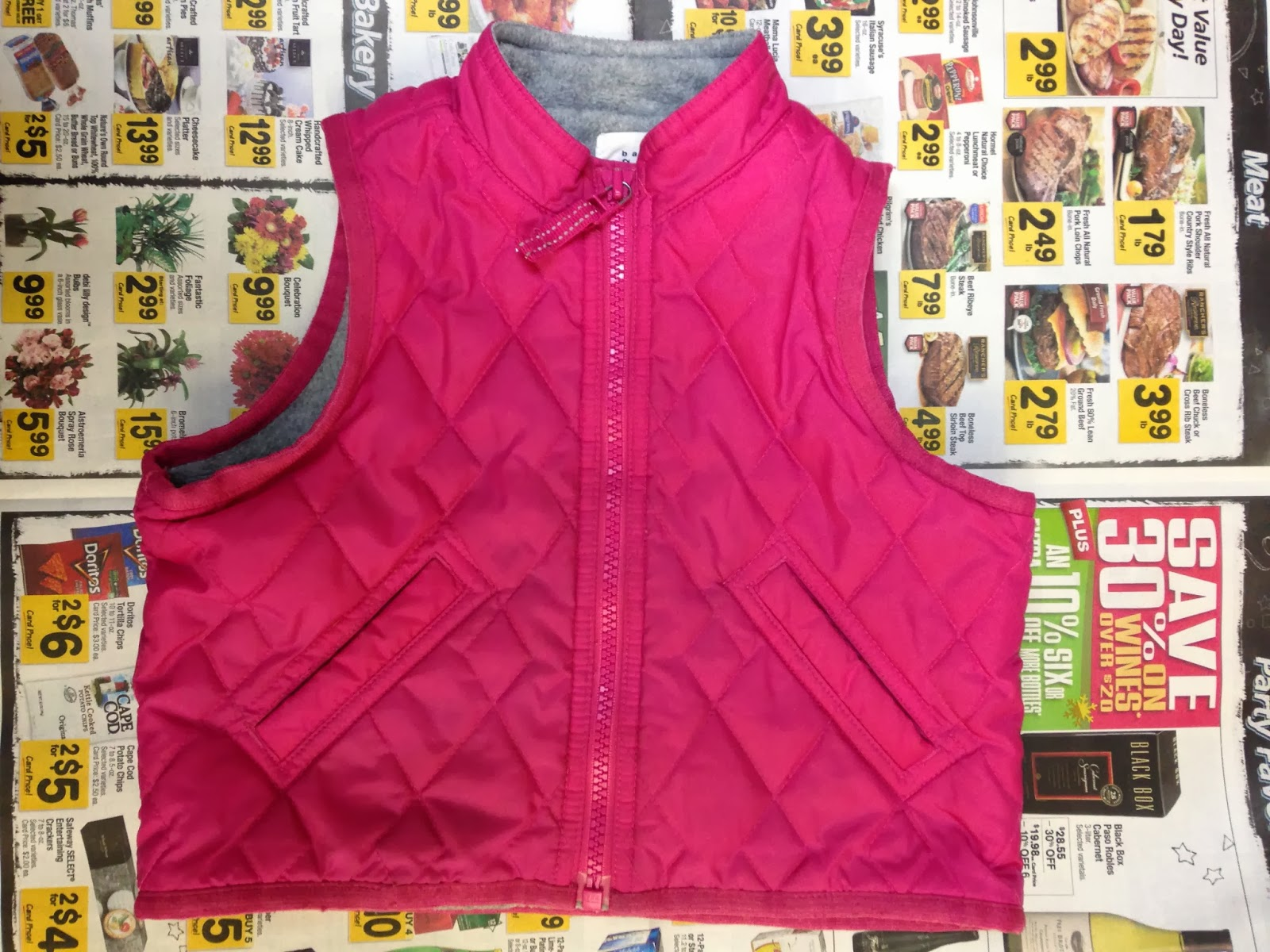 Ulterior Alterations: Toddler Vest Pattern Original