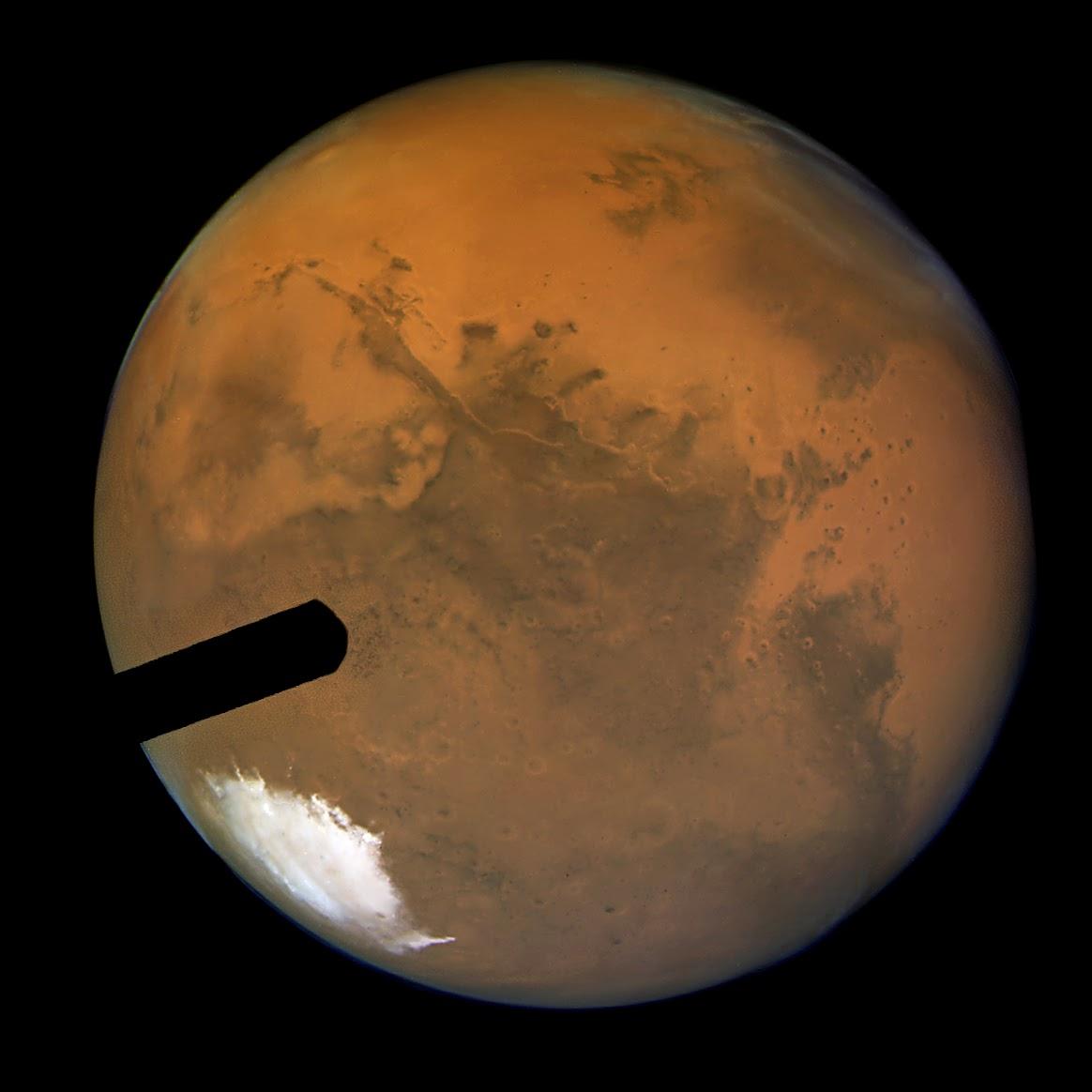 Mars Hubble Telescope Hubble Image of Mars