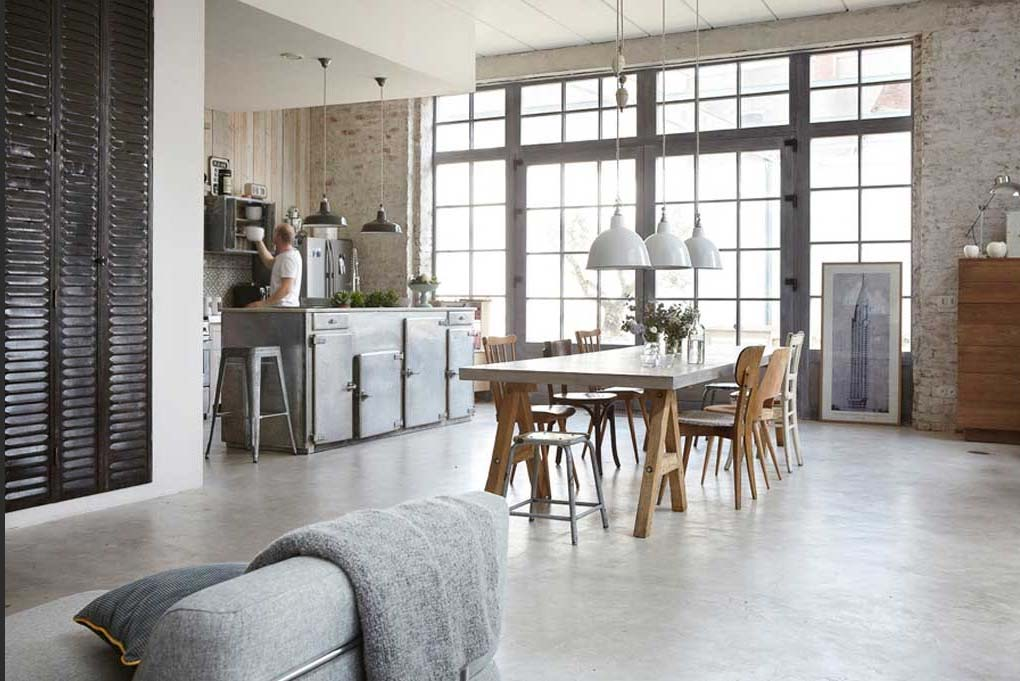 Casa in stile industriale e romantico a lille arc art blog by daniele drigo - Casa stile industriale ...
