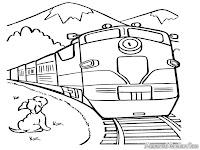 Pergi Keluar Kota Dengan Kereta