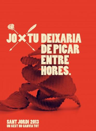 Sant Jordi 2013 un gest ho canvia tot ajuntament Barcelona