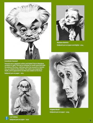 Exaggerated Features, International Society of Caricature Artists, spring 2015