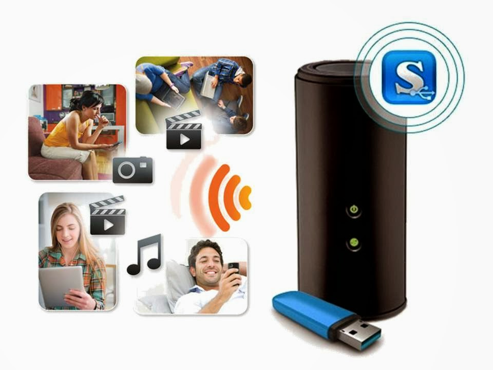 One Of The World S Gest Suppliers Networking Products Launches Mydlink Shareport A Free Mobile Lication That Turns Any Usb Storage Device