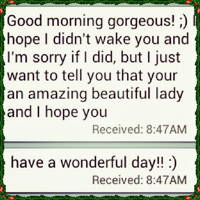 Sweet good morning sms for her