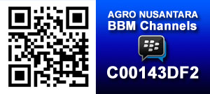 Agro Nusantara BBM Channels : C00143DF2