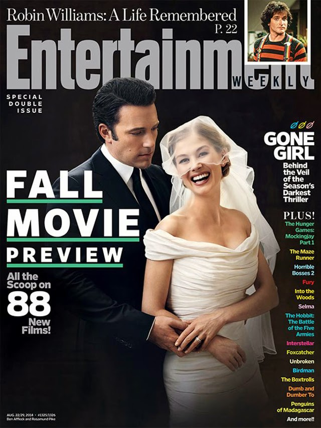gone girl magazine cover ben affleck rosamund pike