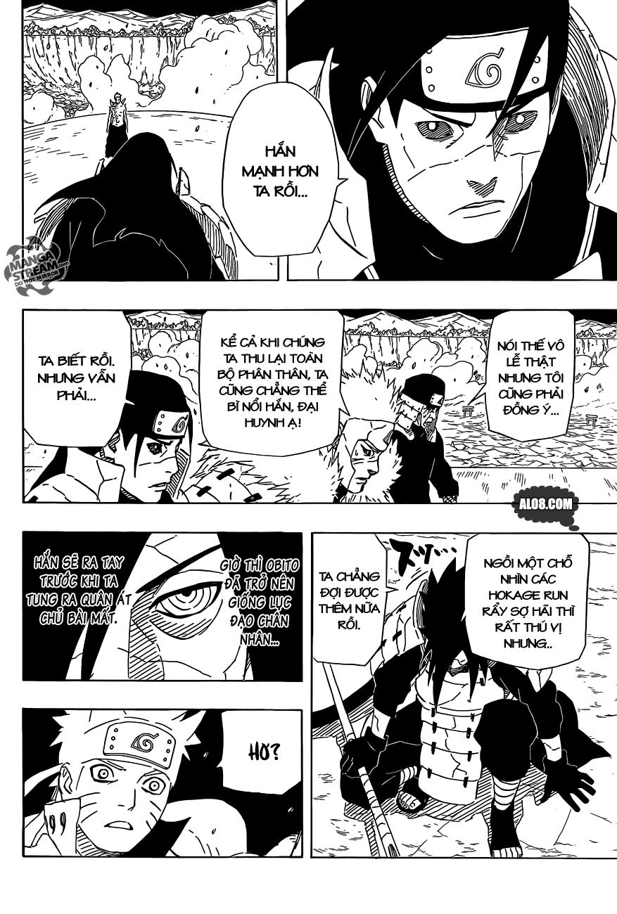 Naruto chap 638 Trang 16
