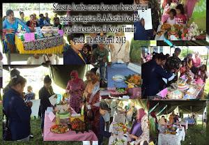 Peringatan RA Kartini ke-134 tahun 2013 di Kelurahan Koya Timur
