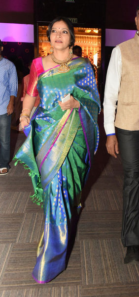 Manjula at Ghattamaneni Bobby Wedding