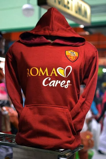 Grosir Jumper Hoodie As Roma Red Maroon - Big Match Jersey - Pin 32826B0C