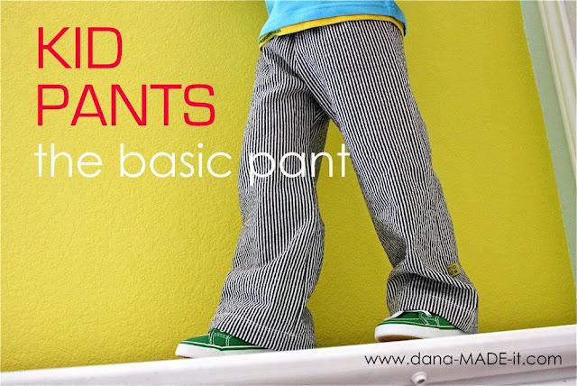 Kid Pants, Basic – MADE EVERYDAY