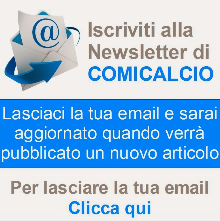 La Newsletter di Comicalcio