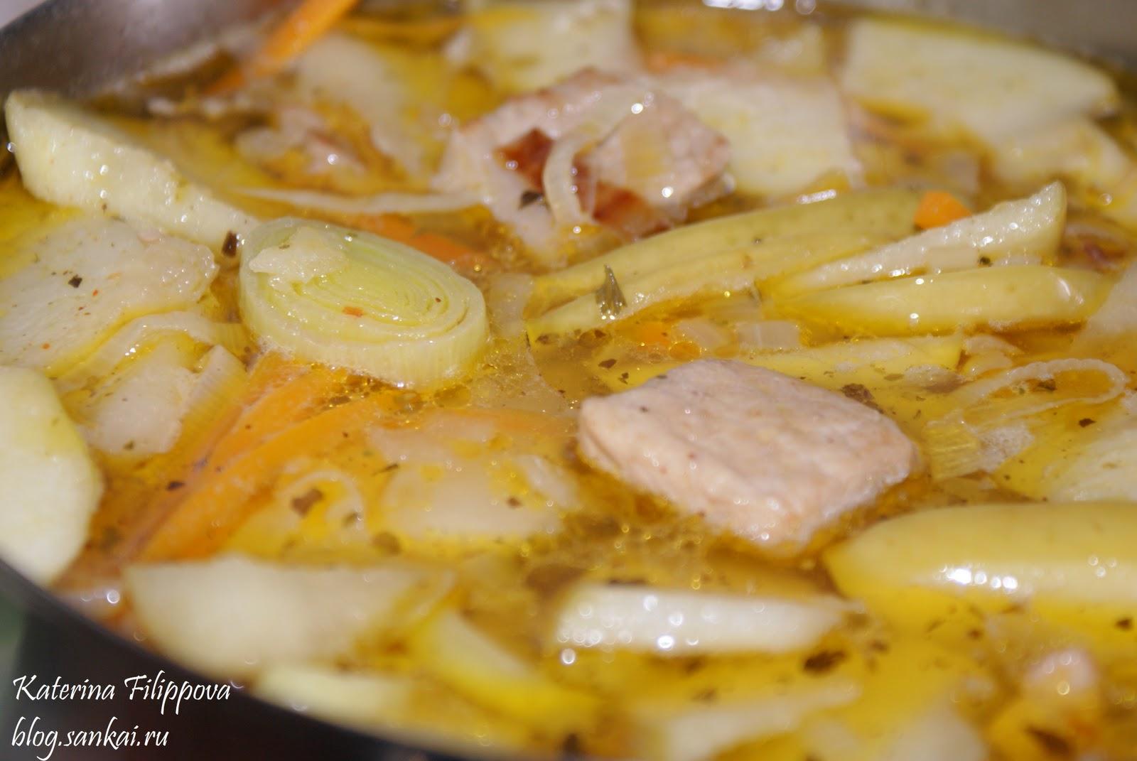 Супы из свинины рецепт с фото в домашних условиях 634