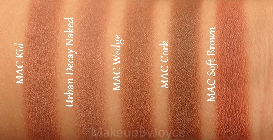 Gut gemocht ❤ MakeupByJoyce ❤** !: Swatches + Comparison: Urban Decay  SP18