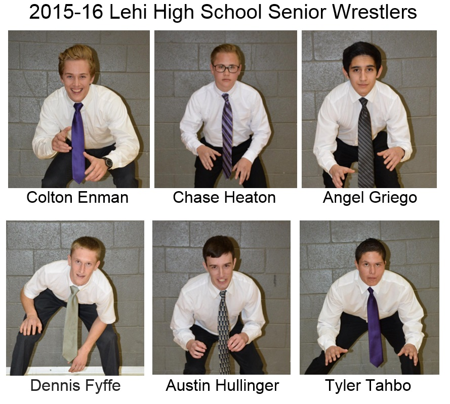 01/14/16 - LHS Wrestling Sr night
