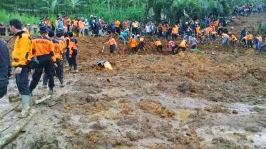 Foto Foto Bencana Longsor Banjarnegara Dan Evakuasi Korban