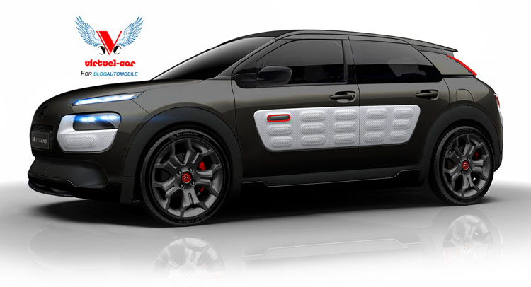 Citroen has a great thing going on with the new c4 cactus crossover
