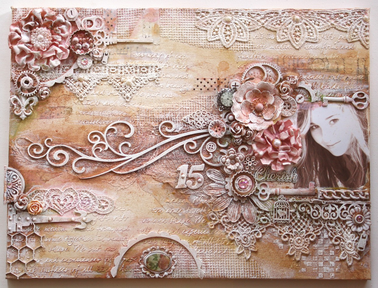 mod podge photo collage ideas - Such a Pretty Mess A NEW Mixed Media Tutorial Video
