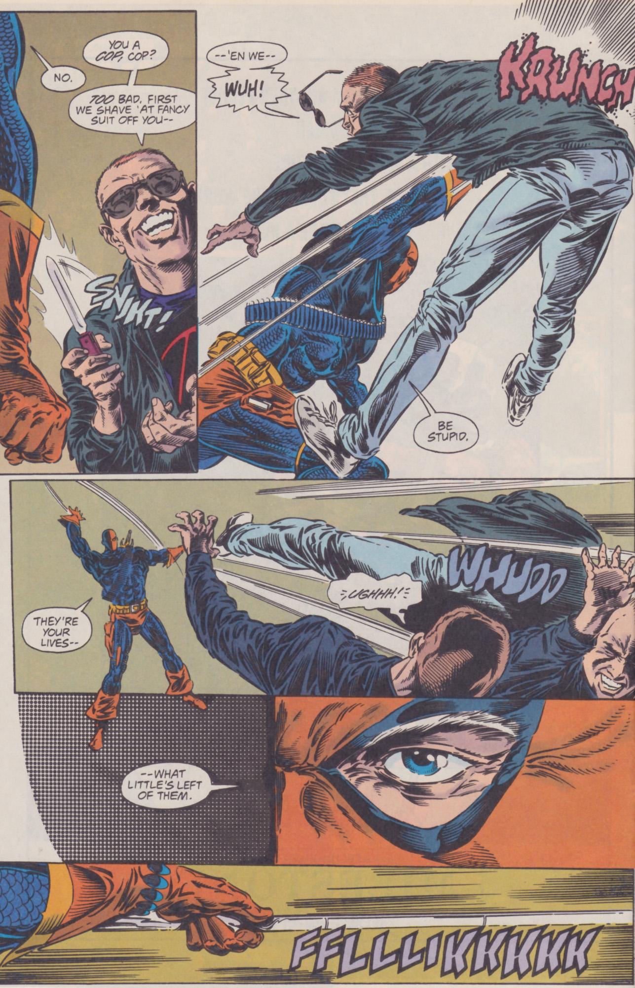 Deathstroke (1991) Issue #22 #27 - English 8