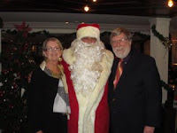 Connie and John with Santa
