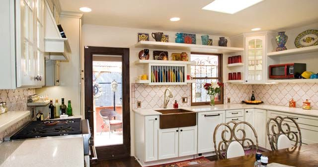 Kitchen sweet french country style in austin interior for Sweet kitchen designs