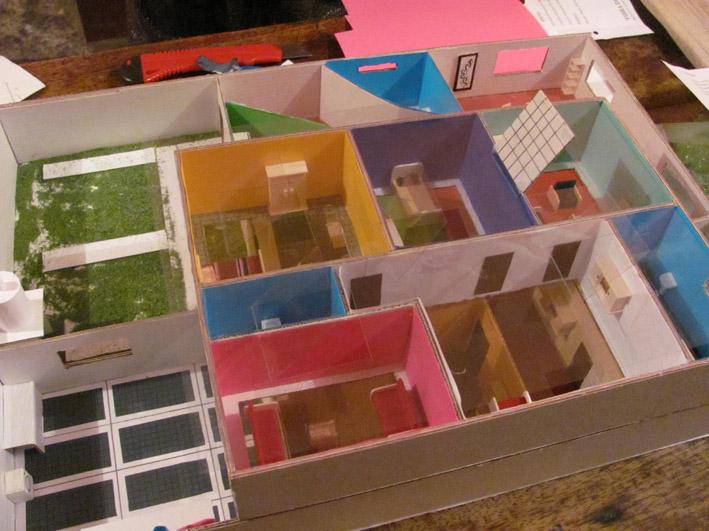 Cultura Ambiental Mi Casa Ecologica Maqueta