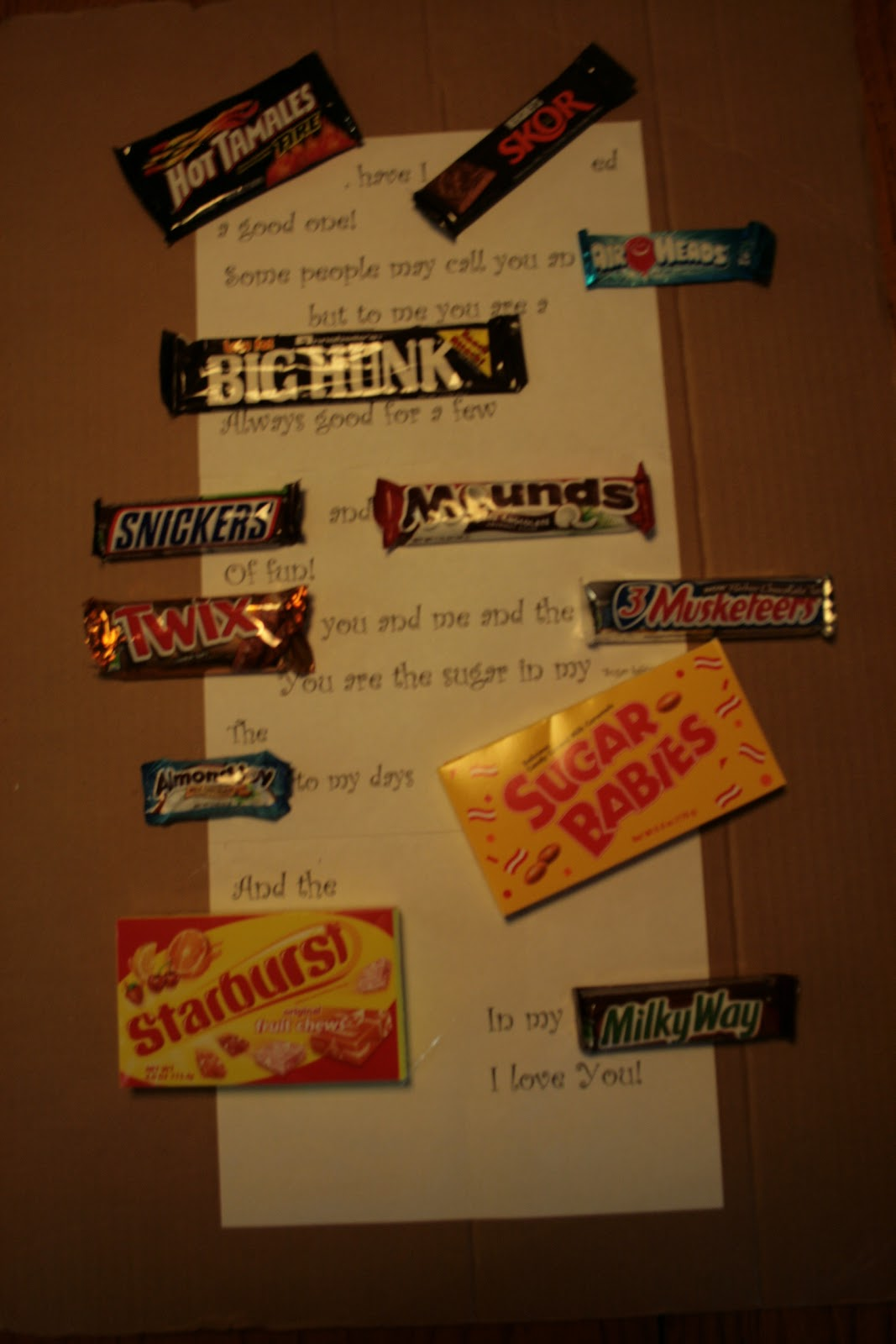 Doodling In My Mind: Happy Father's Day: Candy Cards