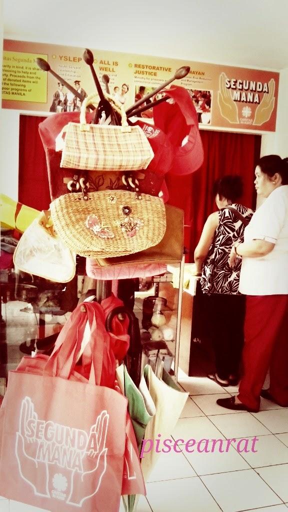 caritas segunda mana victory mall