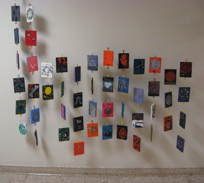 Rowe Junior High Art Blog Periodic Table Mobile
