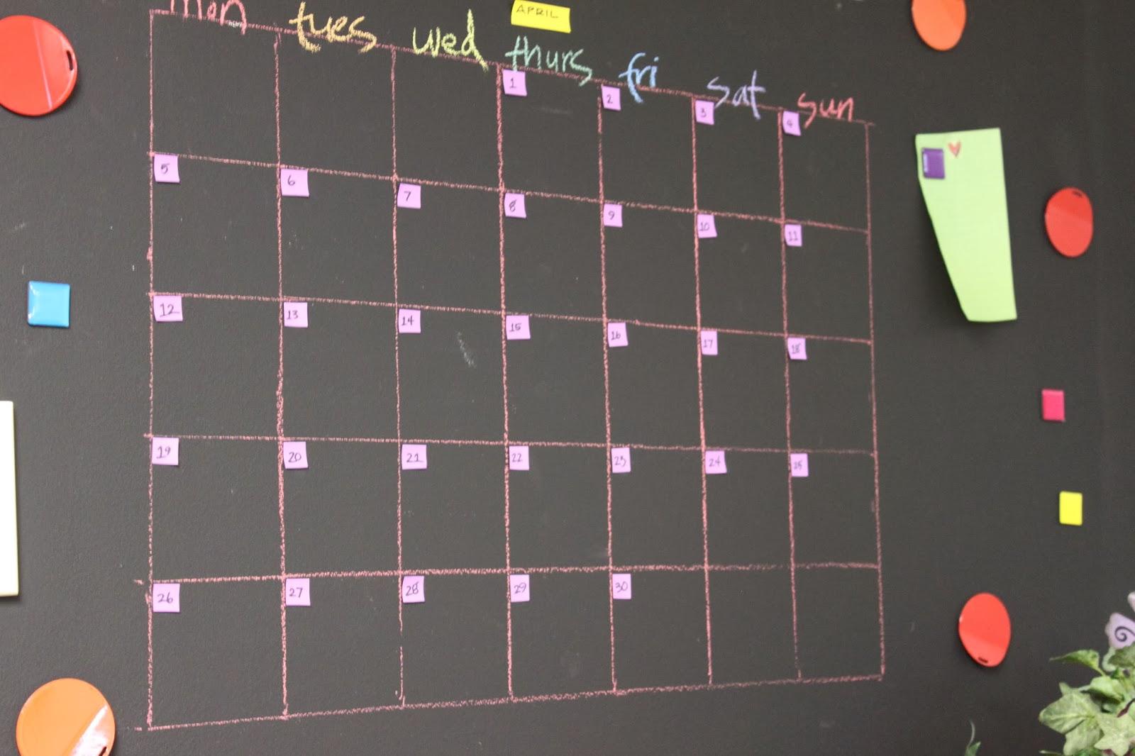 crea chalkboard paint office