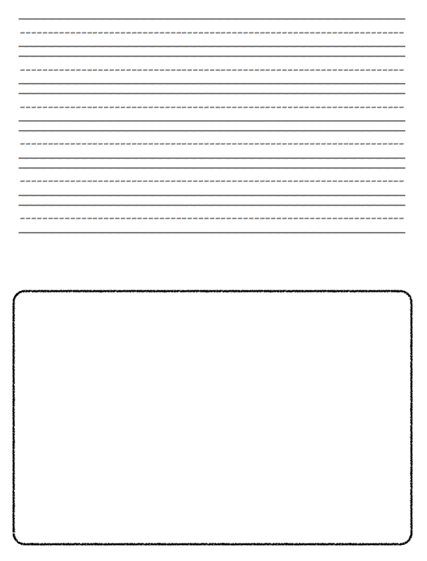 free printable writing paper for second grade pirate