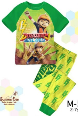RM25 - Pyjama Boboiboy Galaxy