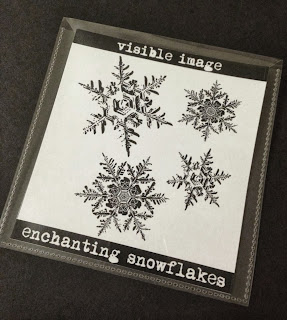 snowflakes stamps visible image
