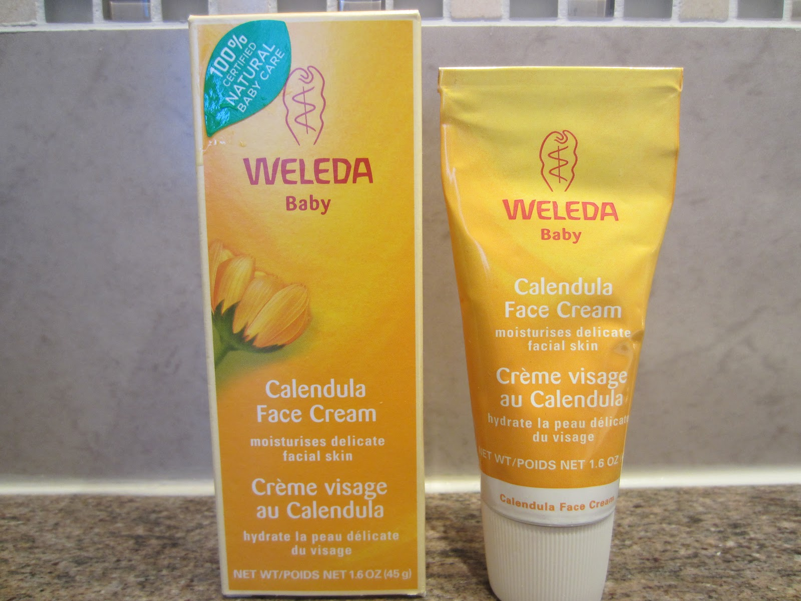 live it love it green it weleda baby calendula face cream review. Black Bedroom Furniture Sets. Home Design Ideas