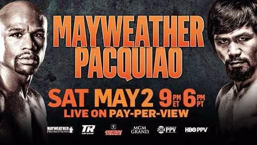 Floyd Mayweather vs Manny Pacquiao 2 de mayo 2015