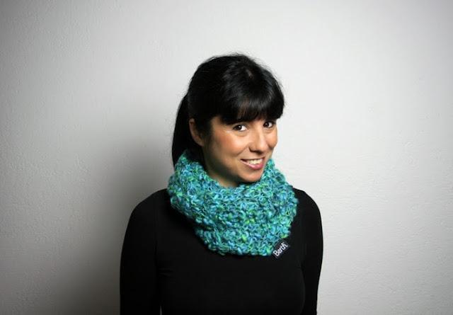 SEAWEED infinity scarf by BERTH handmade
