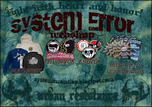 System Error Webshop