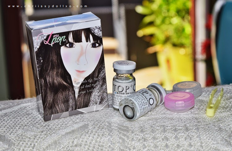 Klenspop TOP+ Gray Circle Lenses Review and Demo